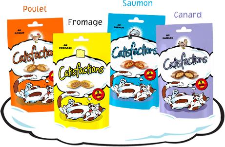 Snacks au Fromage ou Saumon Catisfaction gratuit (gain possible)