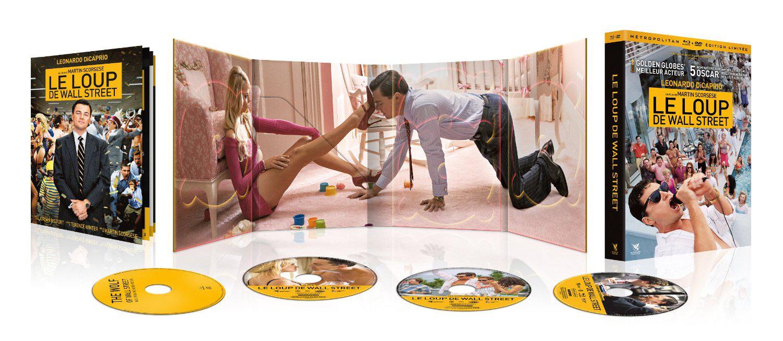 Le Loup de Wall Street Edition Ultimate Combo Blu-Ray + DVD + CD de la B.O + Livret de 36 pages