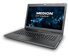 "PC portable 17"" Medion Akoya NB P7631 - Full HD Mat, i5 4210M, 1To HDD + 64GO SSD, 8Go Ram, GeForce GT825M"