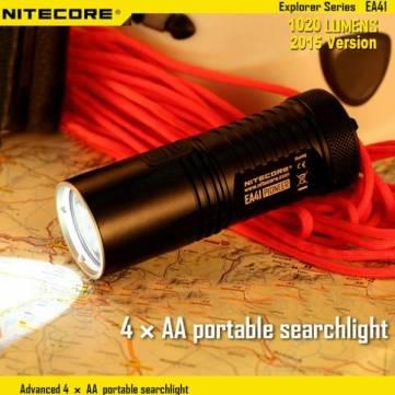 Lampe de poche Nitecore EA41 (1020Lm, 4xAA)