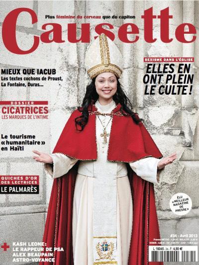 Abonnement 1 an Causette - 12 numéros