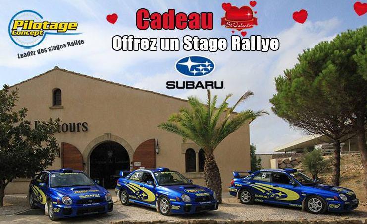 Stage de pilotage Subaru Impreza (Dreux, Narbonne)