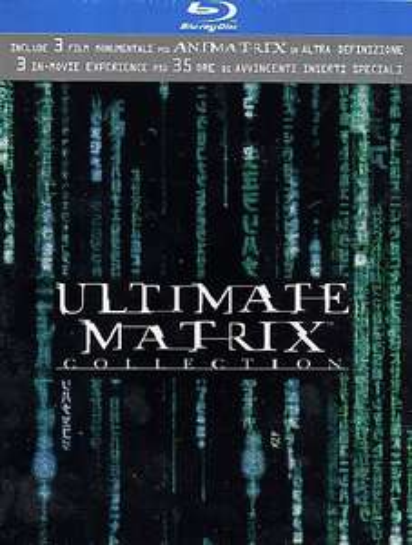 Coffret Ultimate Matrix Collection 4 Blu-ray +3 DVD (Import Italie)