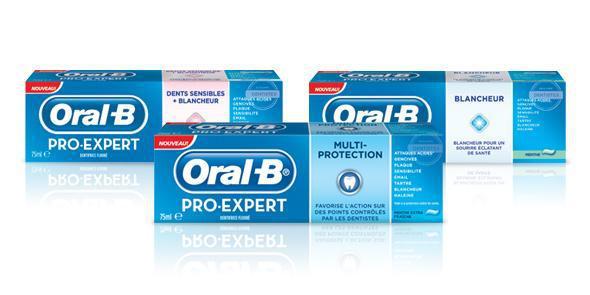 Lot de 2 tubes Oral-B Pro-Expert (via bon de réduction)