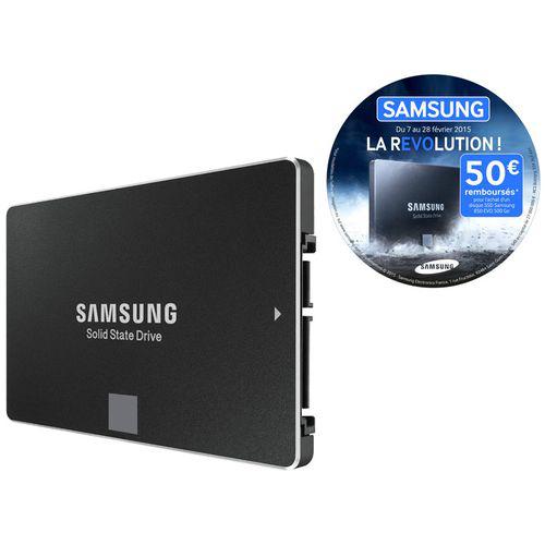 Disque SSD Samsung 850 Evo 500 Go (avec ODR 50€)