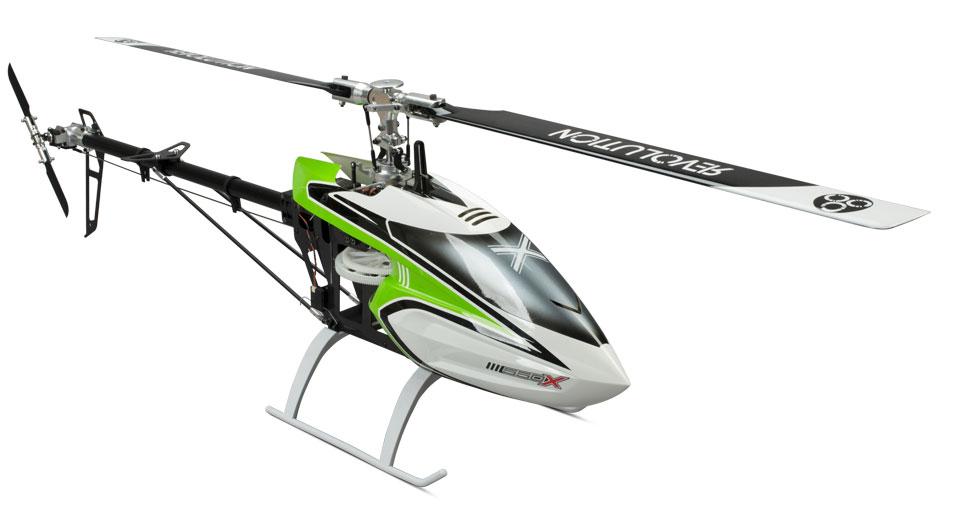 Hélicoptère Blade 550 X Pro Mega Combo avec contrôleur Dymond Profi 85A SBEC et radio Spektrum DX8