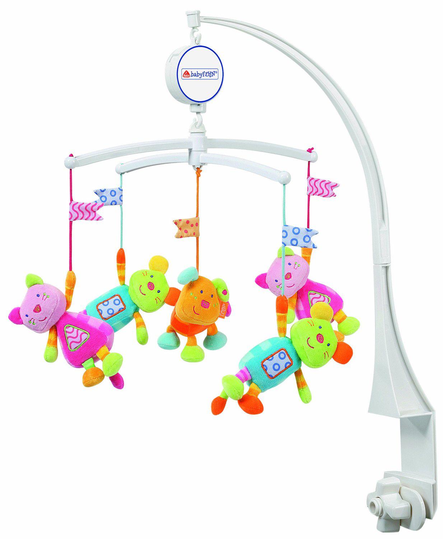 Mobile Babysun Musical Robots