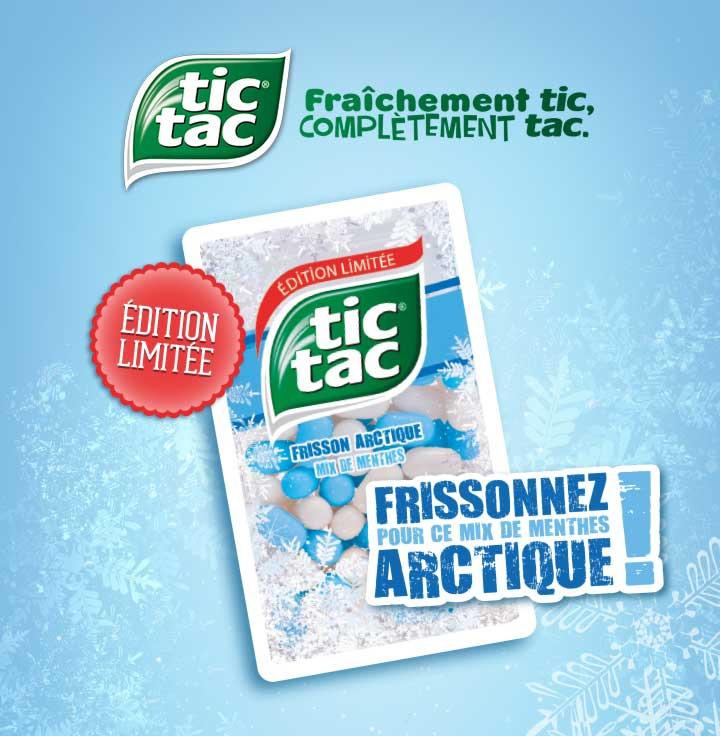 Grande boîte de Tic Tac Frisson Arctique (via Shopmium)