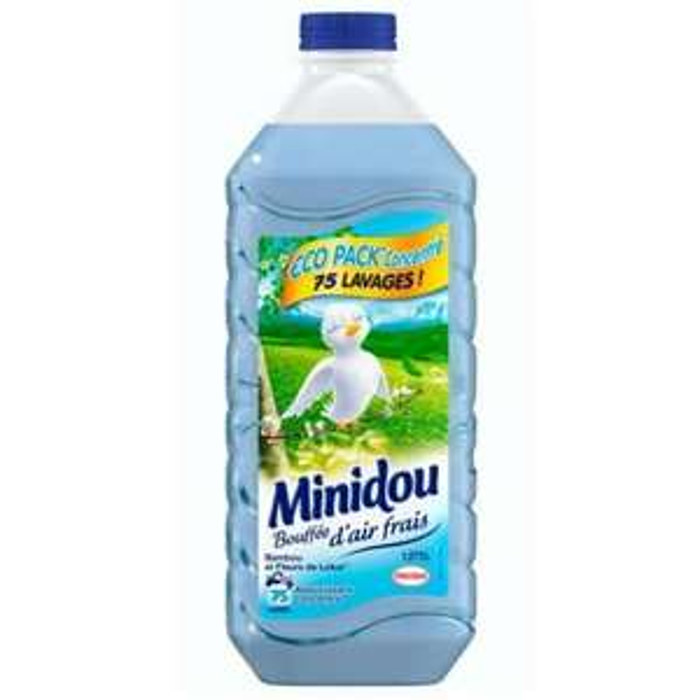 Assouplissant Minidou 1.8L 75 lavages