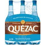 Pack de 6 bouteilles d'eau gazeuse Quezac (BDR 0.60€)