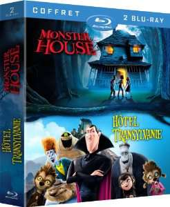 Coffret Blu-ray 2 films : Hôtel Transylvanie + Monster House