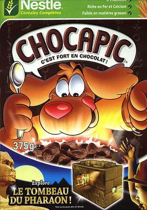 Paquet de céréales Nestlé Chocapic 750 g ( + achat  2 paquets possible  avec reduc+bdr))