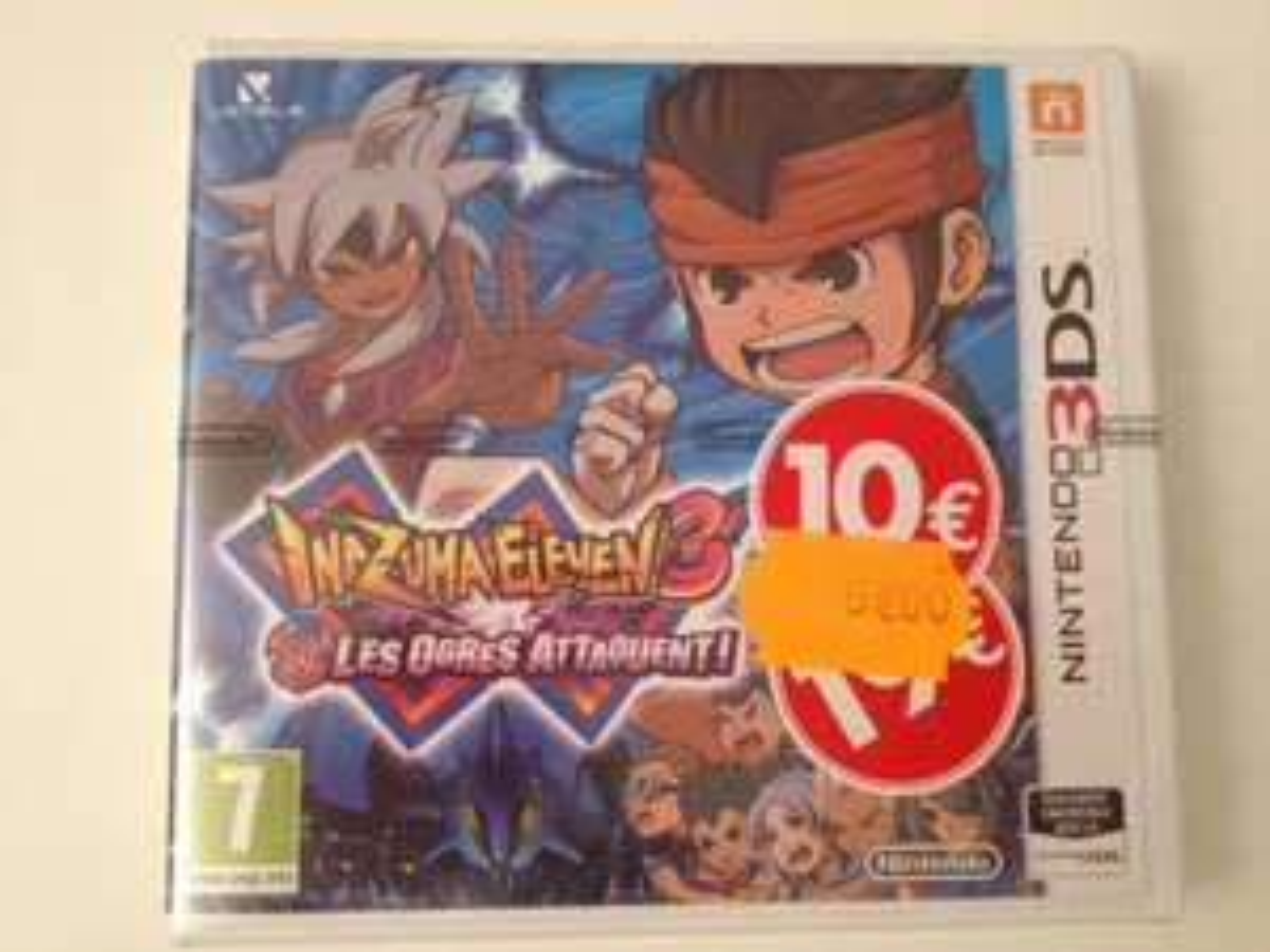 Jeu Inazuma Eleven 3 Les Ogres Attaquent sur Nintendo 3DS