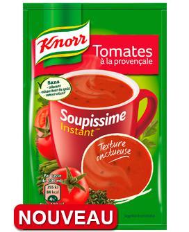 Lot de 2 Soupissime Knorr (50% remise sur carte + bon de réduction)