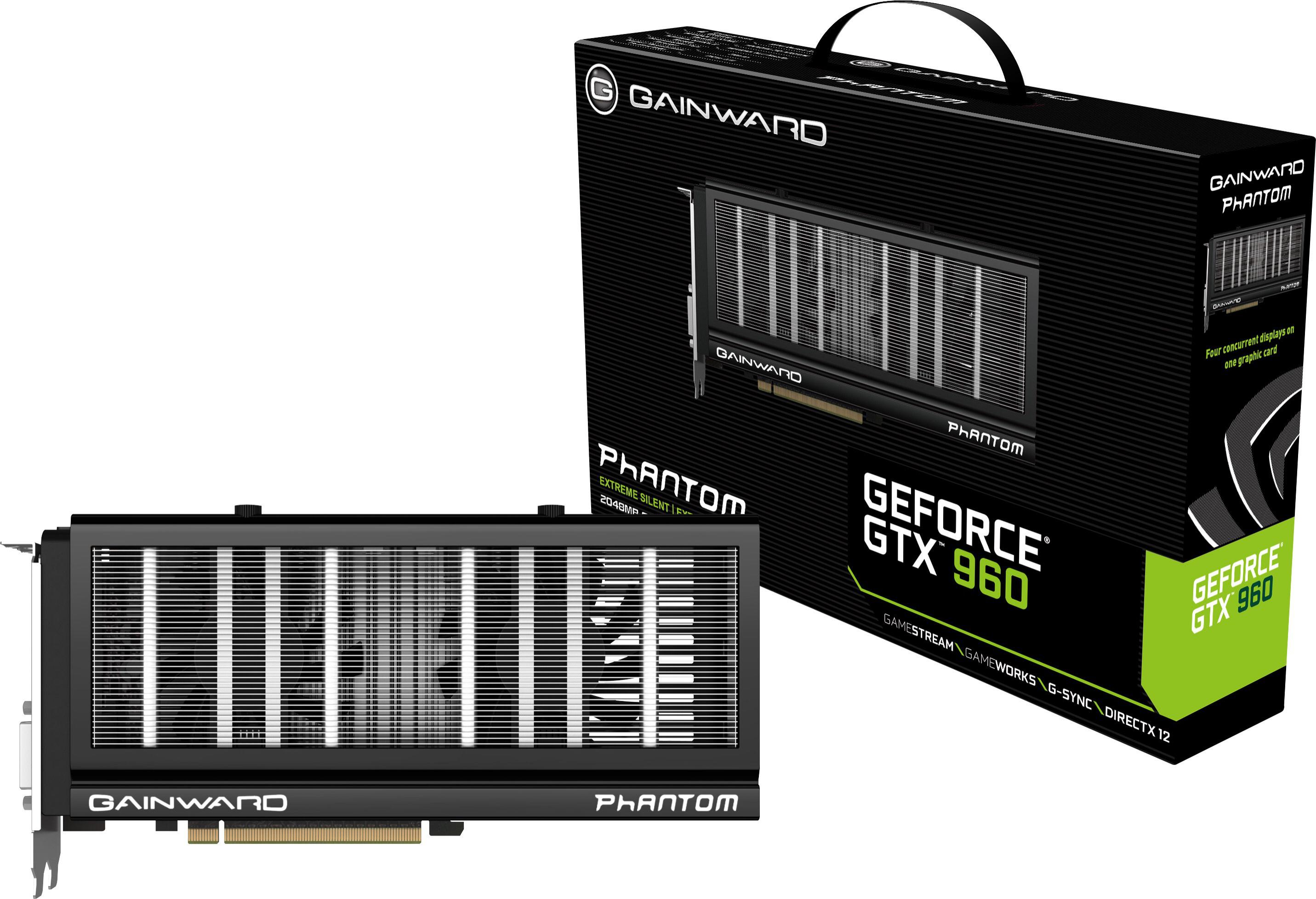 Carte graphique GeForce GTX 960 Gainward Phantom 2Go