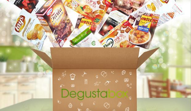 1 mois d'abonnement à la box gourmande surprise Degustabox