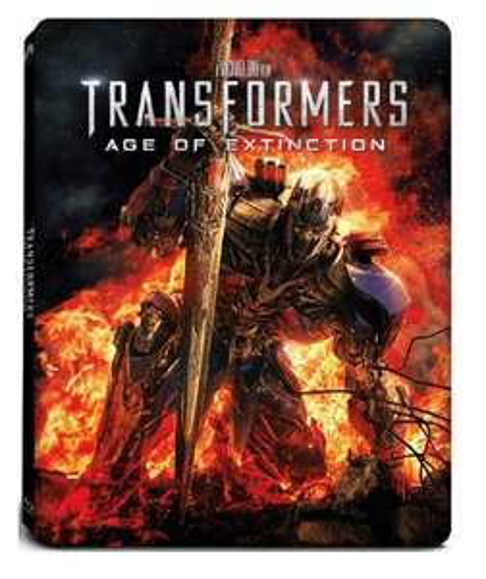 Blu-Ray + DVD Steelbook : Transformers 4, l'âge de l'extinction