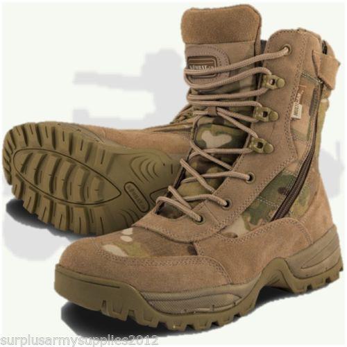 Boots Military Special OPS - Multicam ou noir