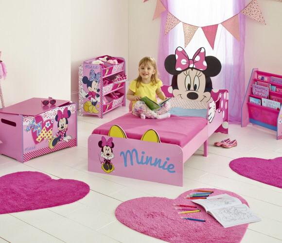 Lit enfant Disney Minnie Mouse + 2 tiroirs