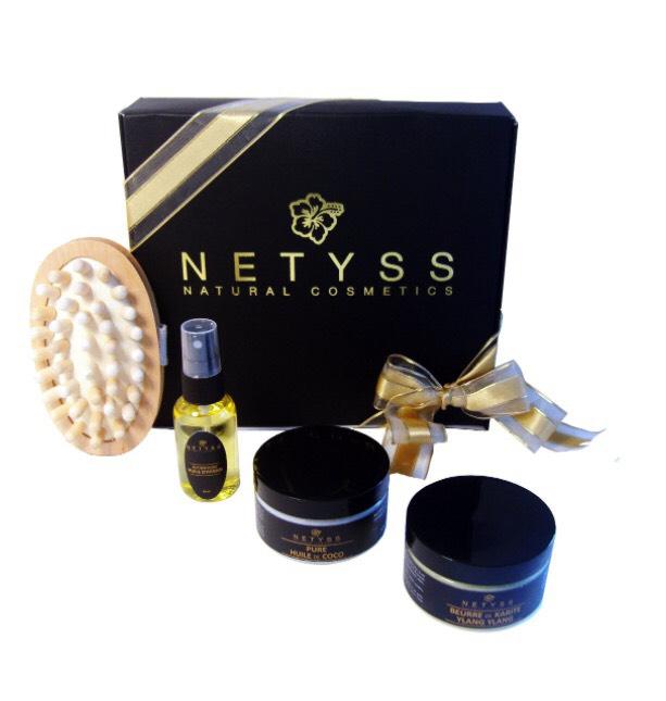 Coffret Cadeau Huile de Massage - Netyss Natural Cosmetics
