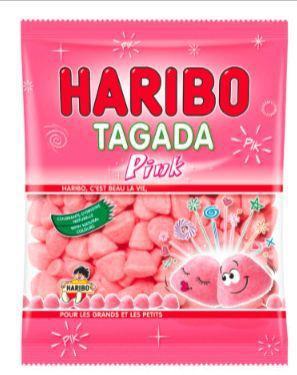 6 paquets de Tagada Pink Haribo (BDR + C-Wallet)