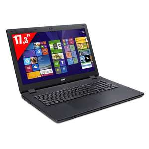 "PC Portable 17.3"" Acer Aspire ES1-711G-P11R (Pentium N3540, HDD 1 To, 4 Go RAM, Geforce 820M)"