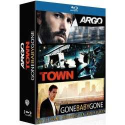 Coffret Blu-ray Ben Affleck: Argo + The Town + Gone Baby Gone