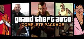 Lot de 5 Jeux PC : Grand Theft Auto Complete Package