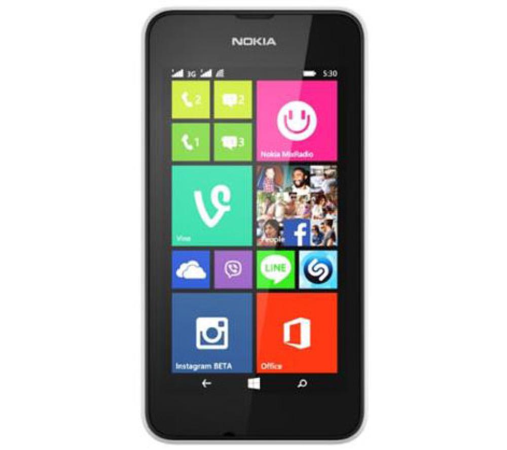 Smartphone Nokia 530 4 Go (30€ ODR) + Micro SD Samsung 16Go + Sapin Magique