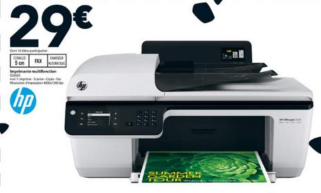 (Dispo également sur Cdiscount) Imprimante multifonction jet d'encre HP Officejet 2620