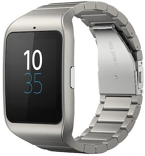 Montre Connectée Sony Smartwatch 3 Bracelet en métal