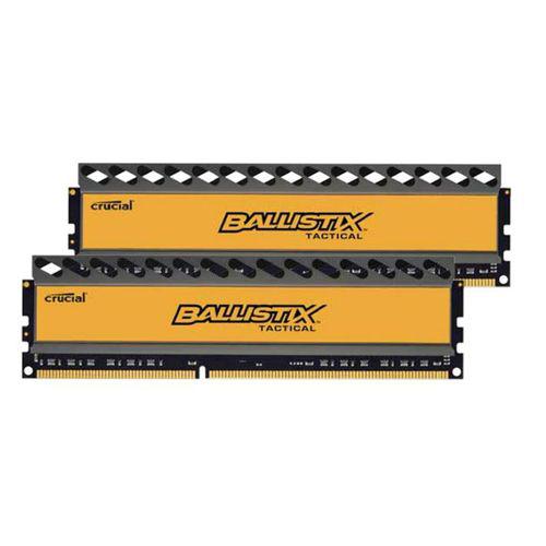 Mémoire Crucial DDR3 PC3-14900 - 2 x 8 Go (16 Go) 1866 MHz - CAS 9 - Ballistix Tactical