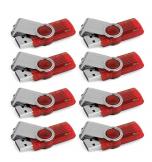Pack de 8 clés USB 2.0 Kingston 8Go Data Traveler 101 G2