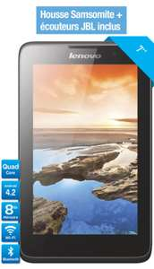 "Tablette 7"" Lenovo A7 40 IPS HD Android 4.4 + Housse Samsonite + Ecouteurs JBL"