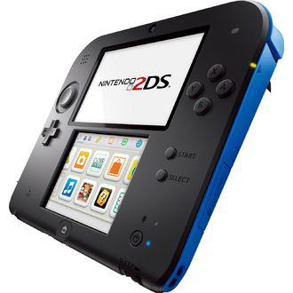 Console Nintendo  2DS Noir/Bleu + Stylet Nitendo 2DS + Carte SD 4 Go