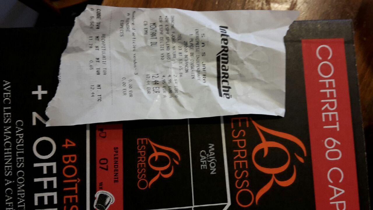 6 boîtes de 10 Capsules (pour machines Nespresso) L'Or Expresso (Différentes variétés)