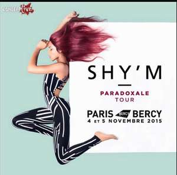 Concert de Shy'm le 17 et 18 Novembre 2015 à Bercy (Paris)
