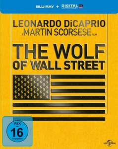 Blu-ray Steelbook The Wolf of Wall Street (Le loup de Wall street)