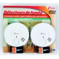 Pack de 2 détecteurs de fumée Kidde  29-FR