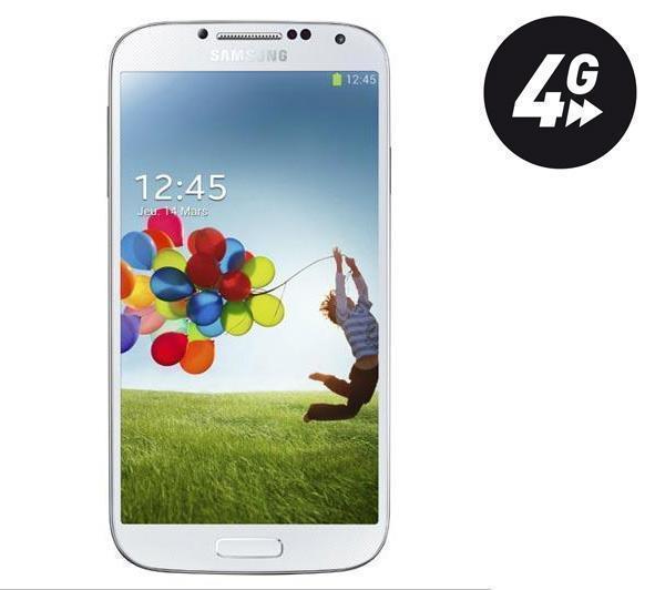 "Smartphone 5""  Samsung Galaxy S4 Value Edition  blanc  - 4G - 16 Go"