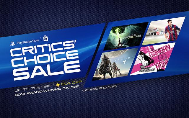 Sélection de jeux PlayStation en promotion - Ex : Tomb Raider Definitive Edition à 14.99€