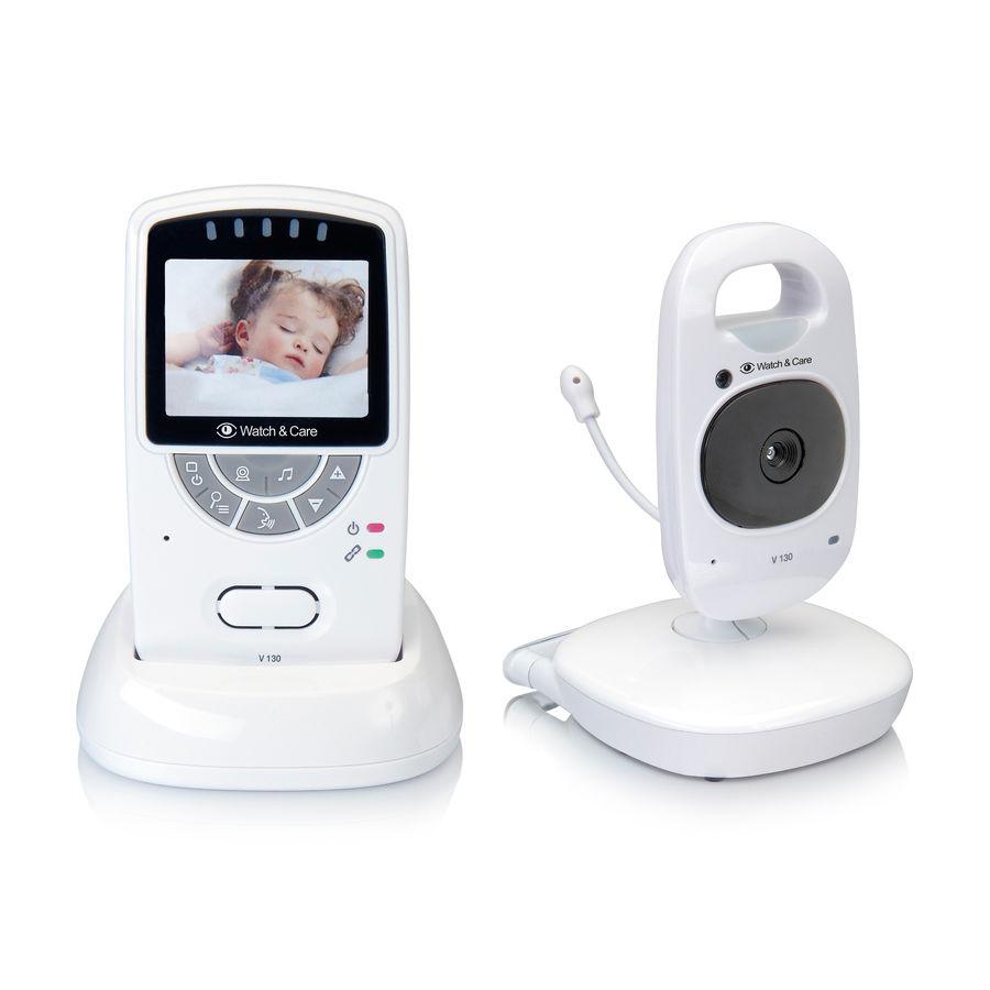 Babyphone vidéo Audioline Watch & Care V130