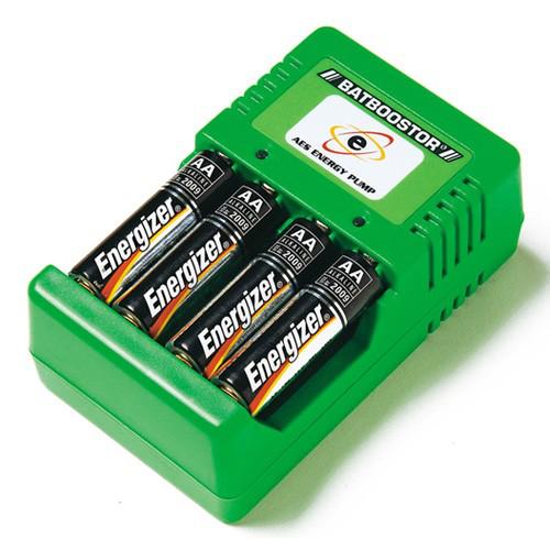 Chargeur de piles jetables Batboostor
