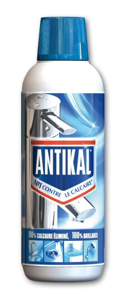 Lot de  2 Antikal Gel Bouteille 750ml (via bon de réduction)