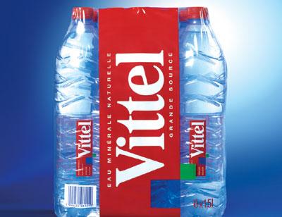 Lot de 2 packs de 6 bouteille de Vittel (via bon de réduction)
