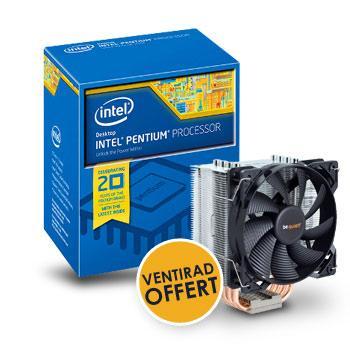 Processeur socket 1150 Intel Pentium G3258 + Ventirad Be Quiet Pure Rock offert