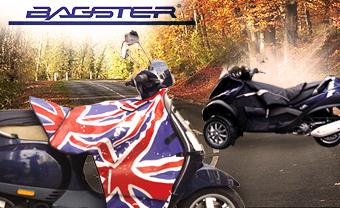 Accessoires d'hiver Bagster pour scooter en promotion - Ex : Tablier Tmax
