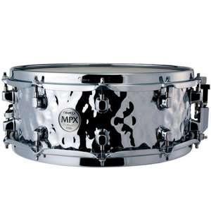 """Caisse claire Mapex ST4558H - MPX Hammered Steel 14"""" x 5"""""""