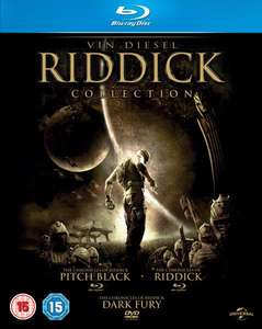Lot de 2 Coffret Blu-rays : The Riddick Collection + The Thing