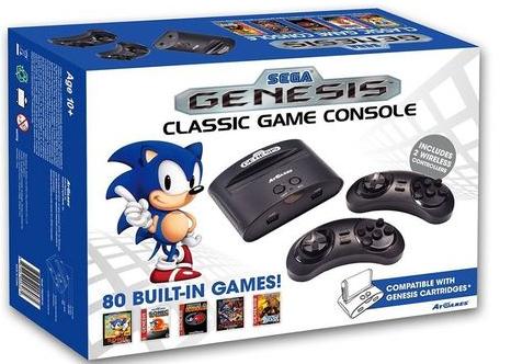 Console Retro Sega Megadrive Genesis Econcept